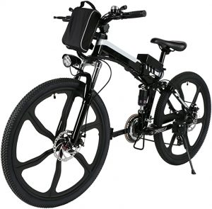 bicicletas electricas de montaña amazon