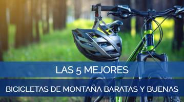 Las 5 Mejores Bicicletas de Montaña Baratas y Buenas
