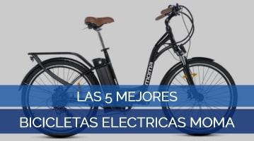 Las 5 Mejores Bicicletas Eléctricas Moma