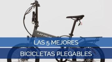 Las 5 Mejores Bicicletas Plegables