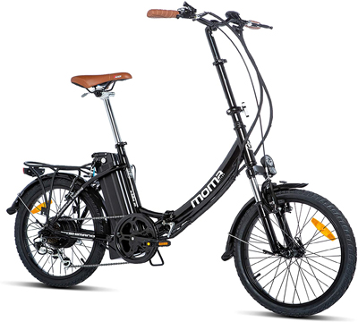 bicicleta electrica moma