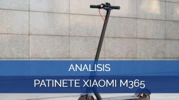 Análisis Patinete Xiaomi M365