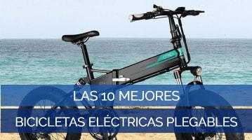 Las 10 Mejores Bicicletas Eléctricas Plegables