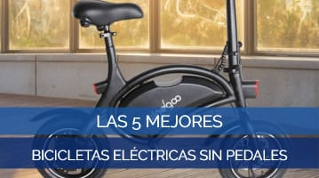 Las 5 Mejores Bicicletas Eléctricas Sin Pedales