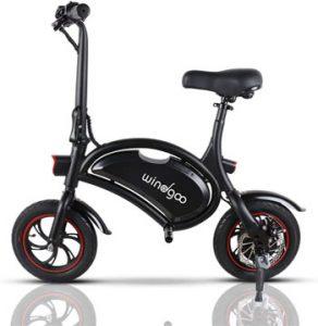 bicicleta electrica plegable sin pedales