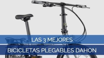 Las 3 Mejores Bicicletas Plegables Dahon
