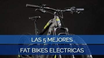 Las 5 Mejores Fat Bikes Eléctricas